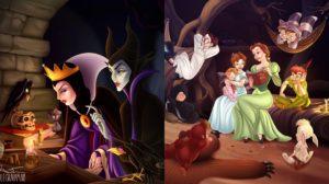 Crossover Disney de Nicole