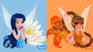 Las hadas Disney por C_art_y