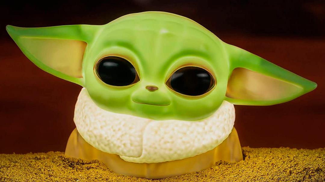 Lampara Baby Yoda