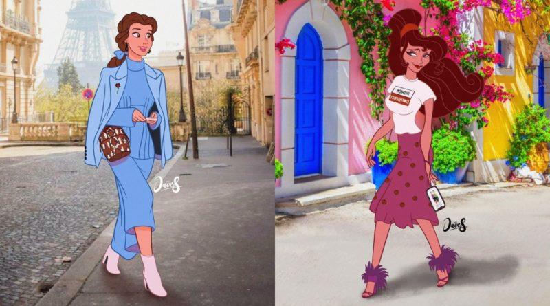Las princesas de Disney si fueran influencers