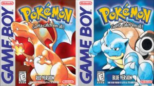 Pokemon Red y Blue - Nintendo