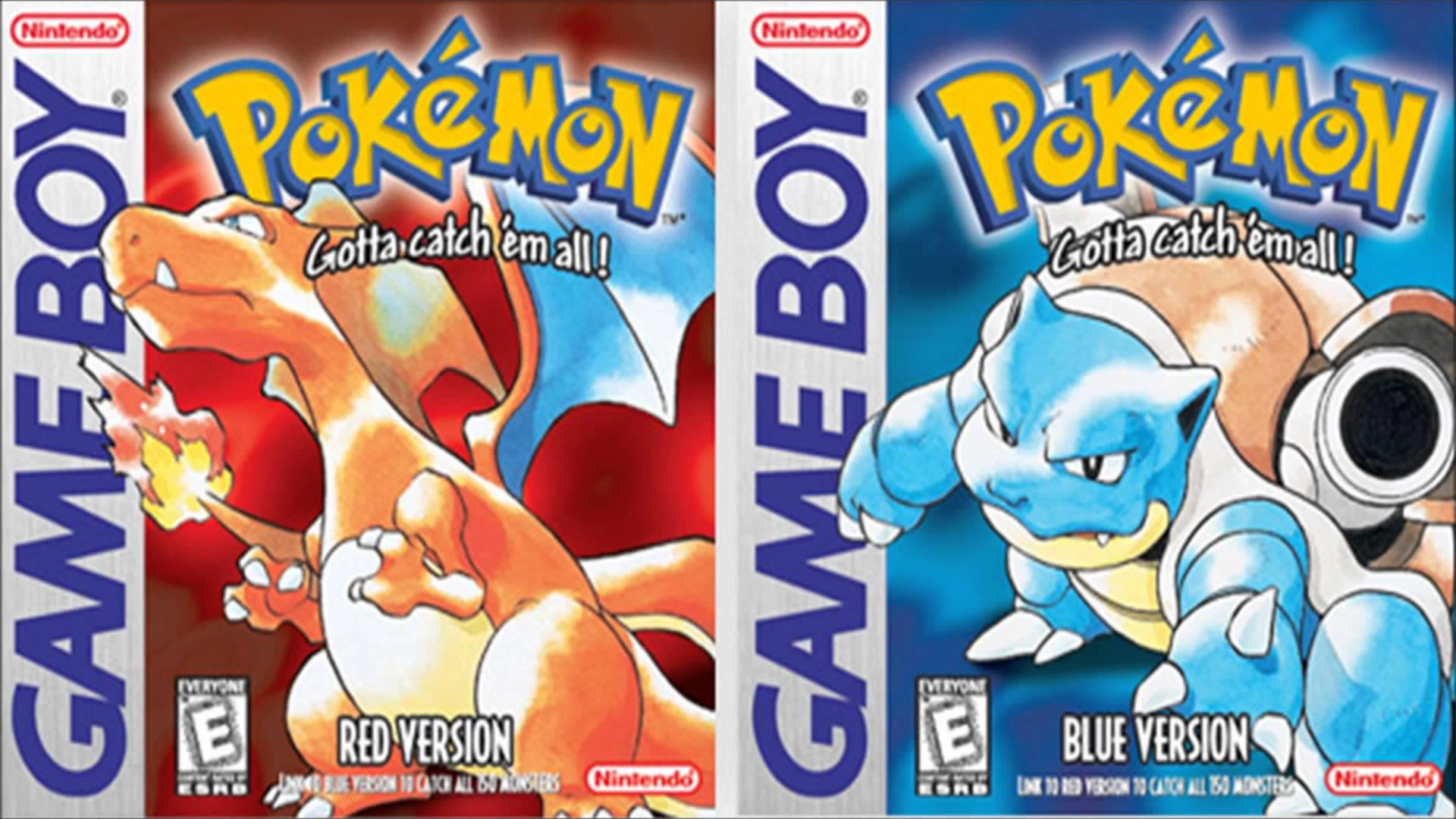 Pokemon Red y Blue - Nintendo