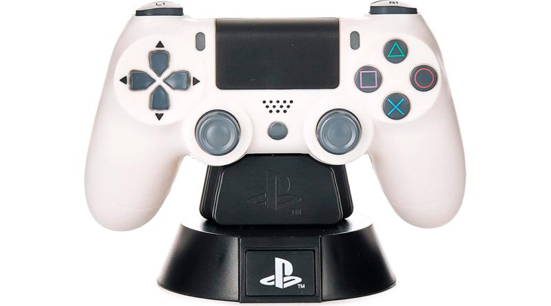 La lampara inspirada en un mando de PlayStation