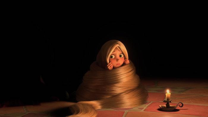 Disney relación tóxica Rapunzel