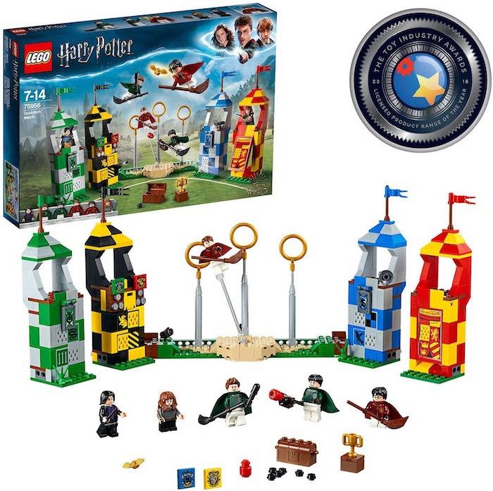 Juega al Quidditch con este LEGO de Harry Potter