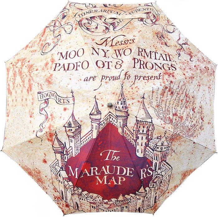 Puedes tener un paraguas del Mapa del Merodeador