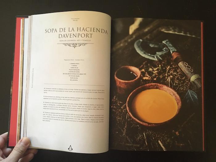 recetas de Assassin's Creed