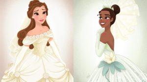Las Princesas Disney el día de su boda