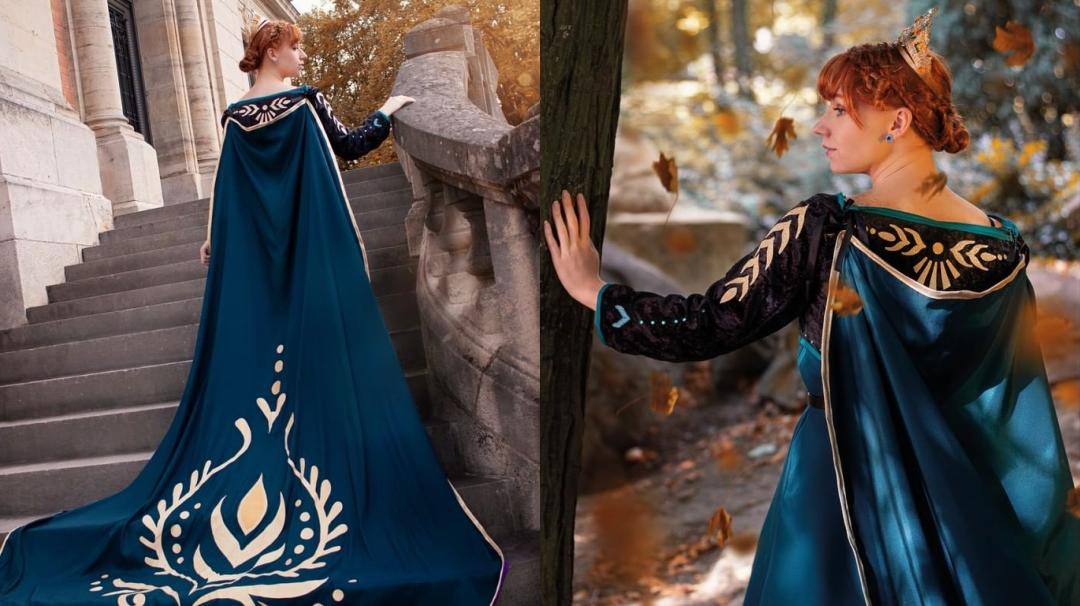 Os enseñamos el cosplay de Anna de LadyBlue