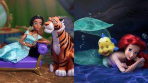 Recrea escenas de Disney con muñecos