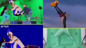 Así se harían los efectos especiales en los clásicos Disney