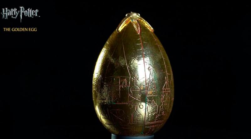 Consigue el huevo de Oro de Harry Potter