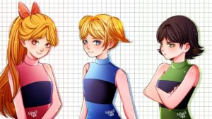 Las supernenas anime