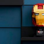 Construye el casco de Iron Man LEGO a LEGO