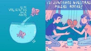 Las ilustraciones motivadoras de Nior Jara