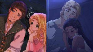 Artista se imagina a los personajes Disney si fueran anime
