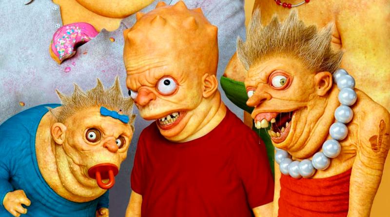 La versión más siniestra de Los Simpson