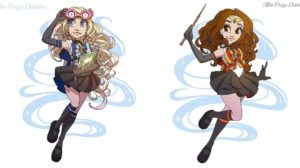 Personajes de Harry Potter si salieran en Sailor Moon