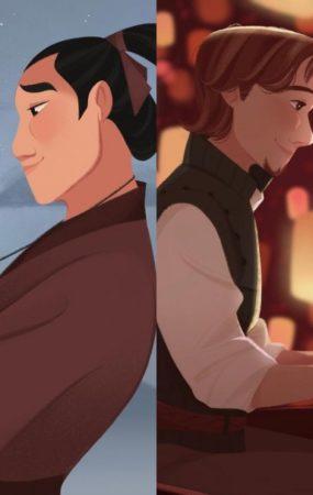 Los fan art de personajes Disney de Liza