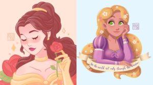 Las ilustraciones de Disney del artista Gleb Nazarov
