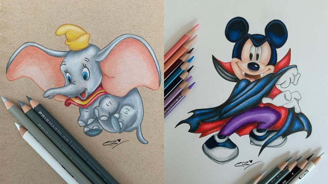 Los personajes Disney más tiernos que nunca
