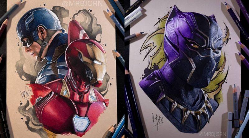 Las ilustraciones de Marvel de Nikky