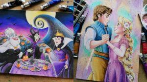 Los fan arts de Disney de Taskreationstudio