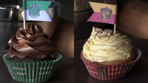 Moldes para hacer Cupcakes de Harry Potter