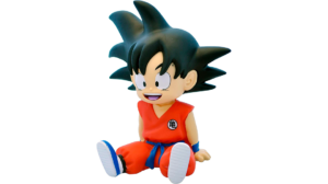 Os enseñamos una hucha de Goku