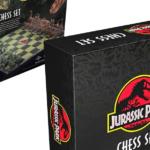 Existe un ajedrez de Jurassic Park