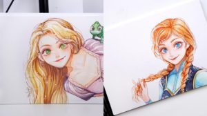 Las princesas Disney si fueran animes