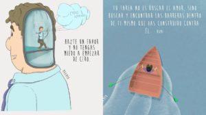 Las ilustraciones para reflexionar de Maampa