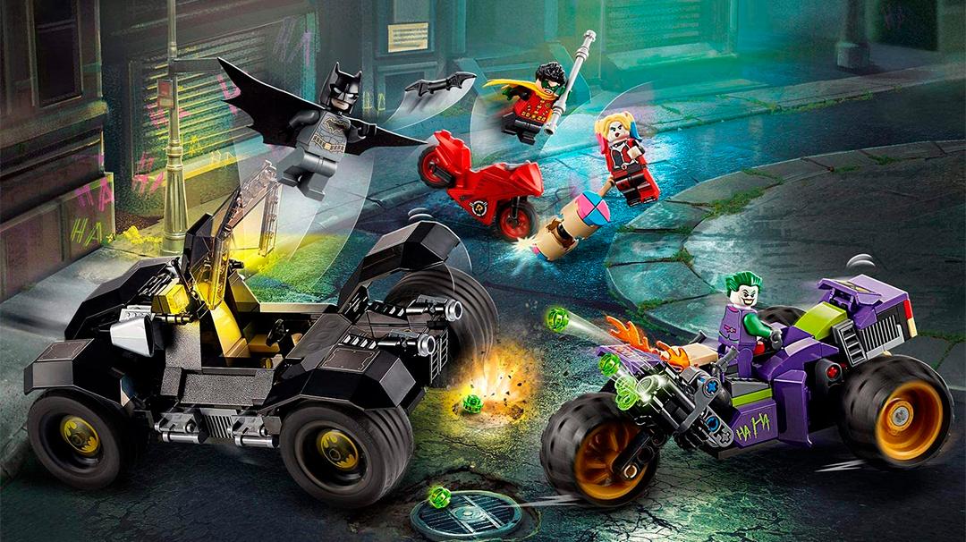 Consigue el LEGO de Batman contra el Joker
