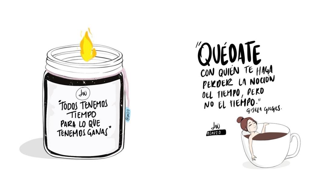 Las increíbles reflexiones de Lau Gómez