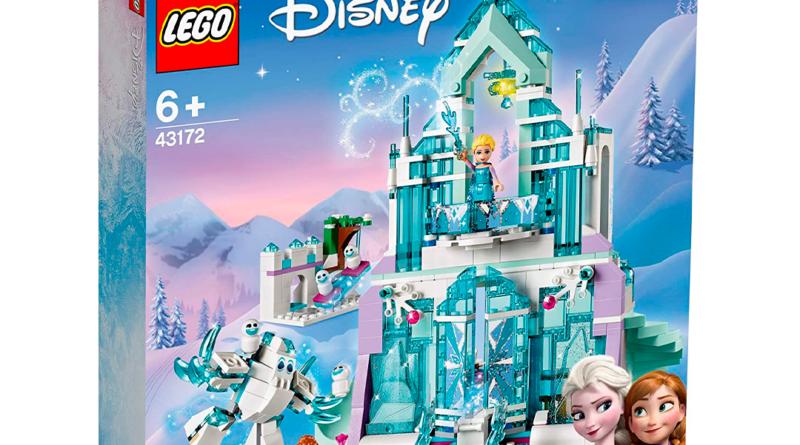 Puedes construir el castillo de Elsa con LEGO