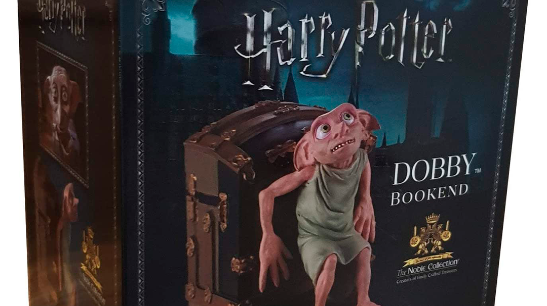 Existe un sujetalibros de Dobby