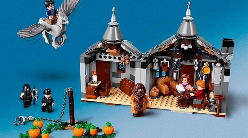 El LEGO de la cabaña de Hagrid que puedes tener