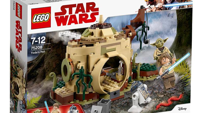 Construye un LEGO de la casa de Yoda