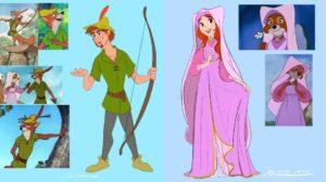 Los personajes de Robin Hood si fueran personas