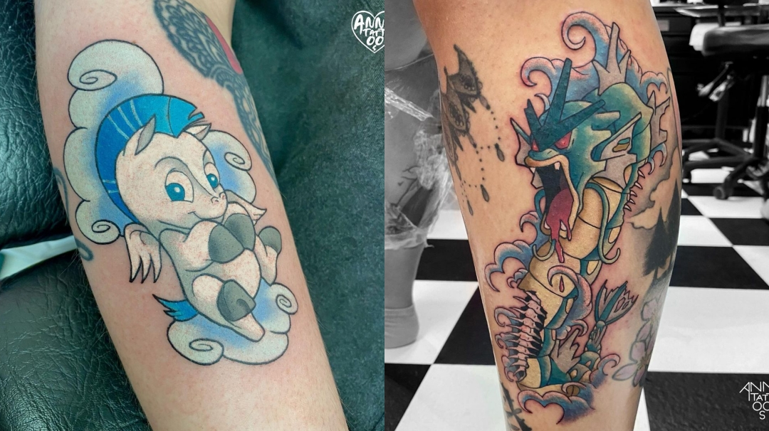 Los tatuajes frikis de Anna