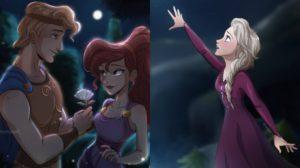 Las increíbles ilustraciones Disney de Sonia