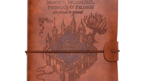 Puedes tener un cuaderno de viaje de los Merodeadores