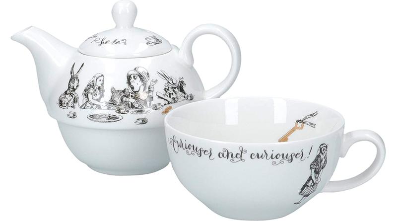 Puedes tomar el Té como en el País de las Maravillas