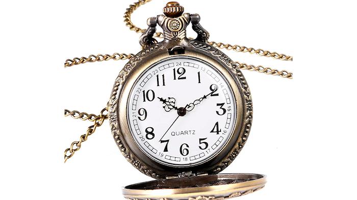 Puedes tener un reloj de bolsillo del País de las Maravillas