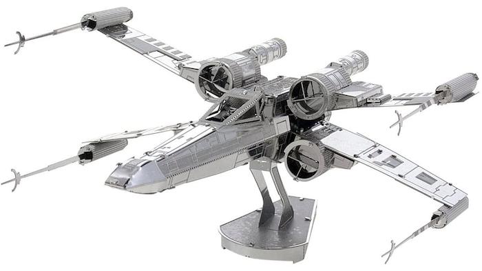 Puedes hacer maquetas de Star Wars