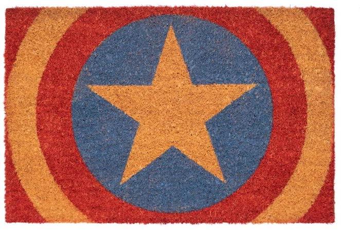 Puedes tener un felpudo del Capitán América