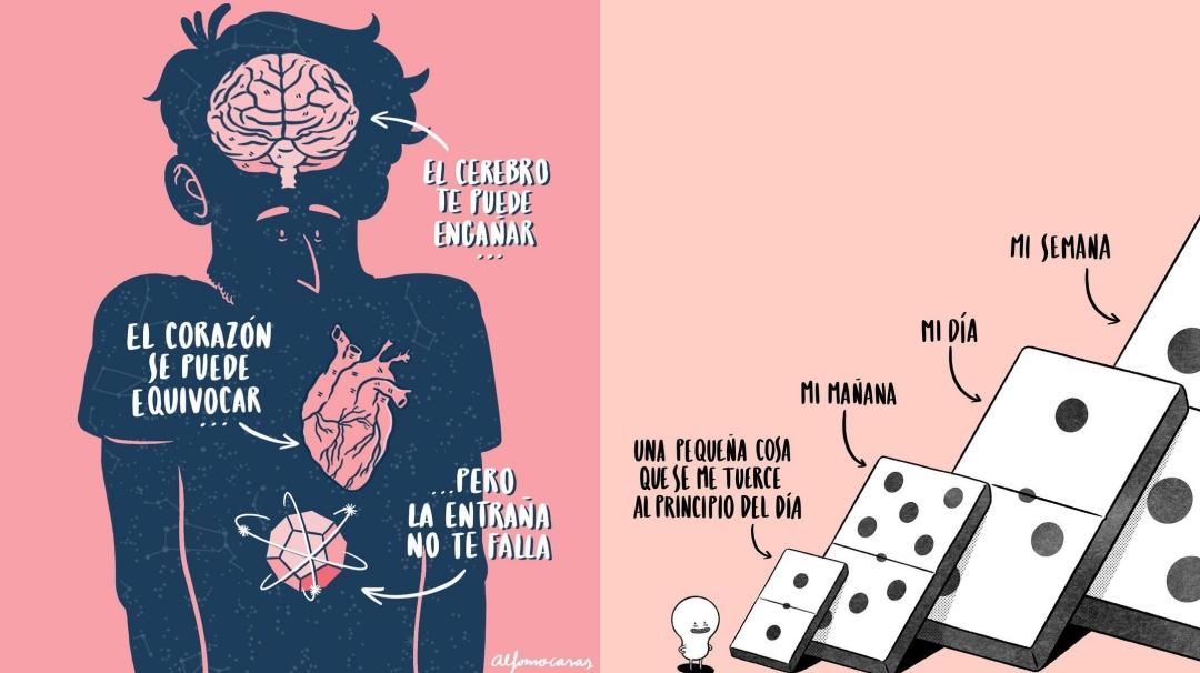 Las ilustraciones para reflexionar de Alfonso Casas
