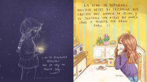 Las ilustraciones motivadoras de lavidadenicol