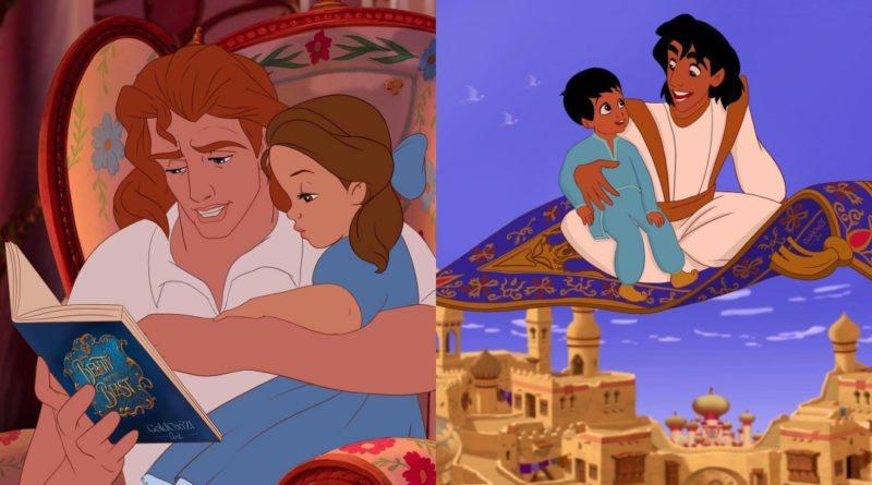Artista se imagina a las príncipes de Disney como padres