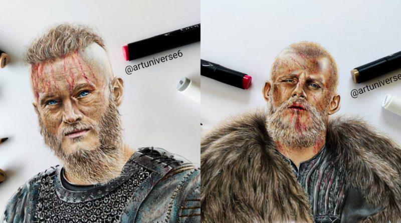 El arte vikingo de ArtUniverse6